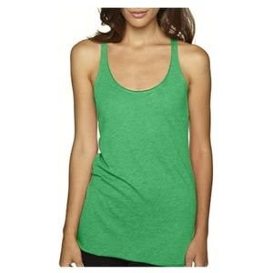 Women's Stylish Soft Tri Blend Racerback Tank Top